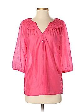 Ann Taylor Factory 3/4 Sleeve Blouse Size S (Petite)