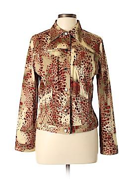 August Silk Denim Jacket Size 12