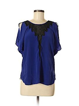 Akiko Short Sleeve Blouse Size M