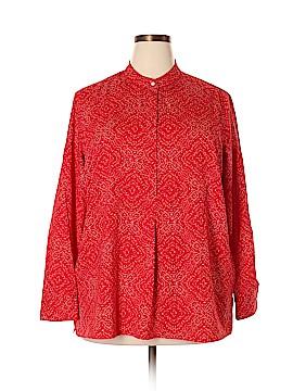 Lauren by Ralph Lauren Long Sleeve Blouse Size 2X (Plus)