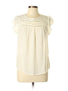 E&M Collection Short Sleeve Blouse Size L