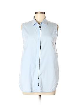 3.1 Phillip Lim Sleeveless Button-Down Shirt Size 8