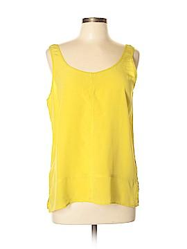 Club Monaco Sleeveless Silk Top Size L