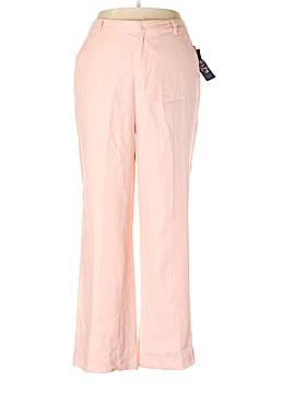 Chaps Linen Pants Size 16