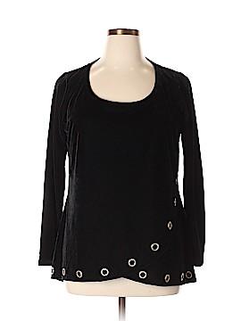 Belldini Long Sleeve Blouse Size 0X (Plus)