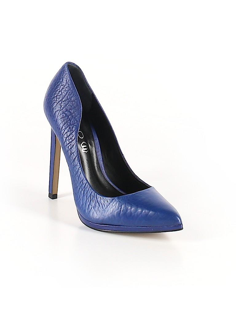 d0bbab0b19c Aldo Solid Navy Blue Heels Size 7 1 2 - 63% off