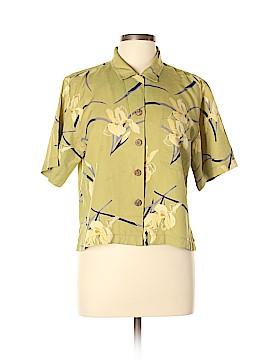 Tommy Bahama Short Sleeve Silk Top Size M