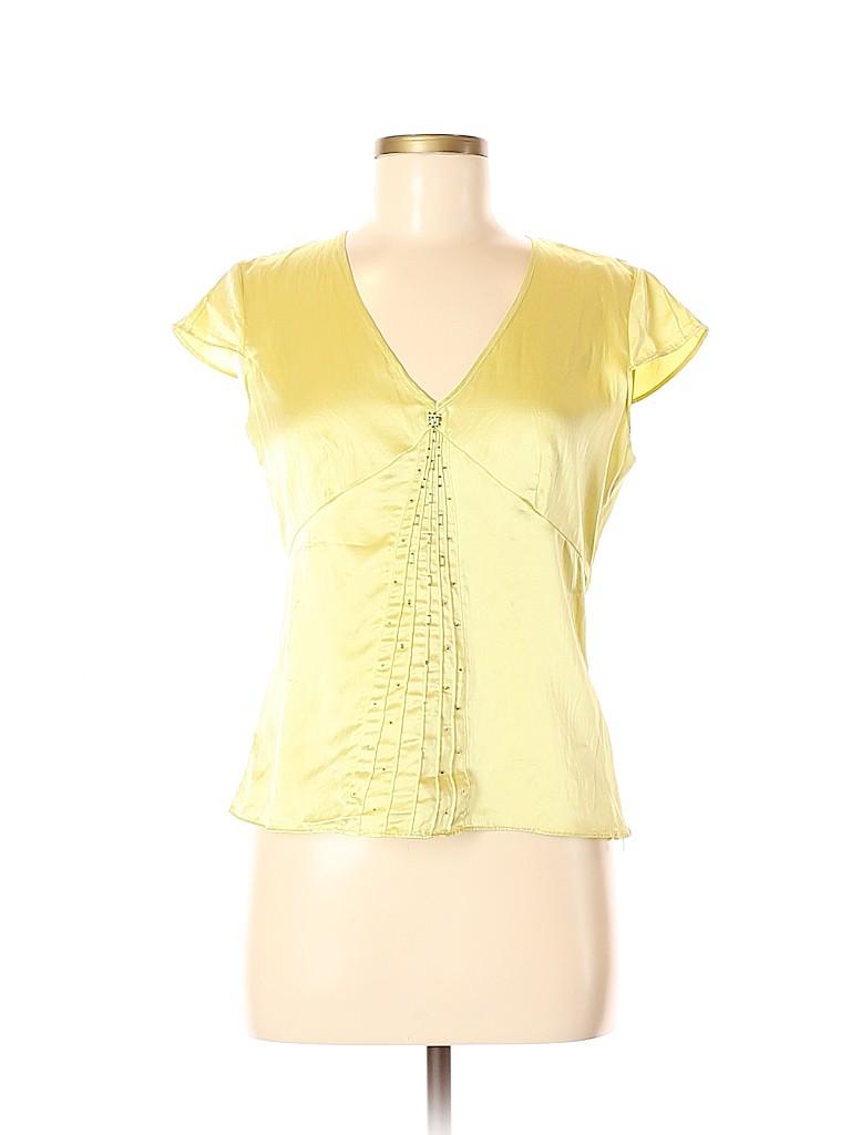 City DKNY Women Short Sleeve Blouse Size 6