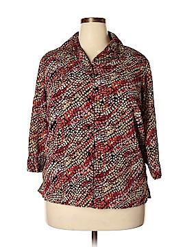Unbranded Clothing Long Sleeve Blouse Size 1X (Plus)