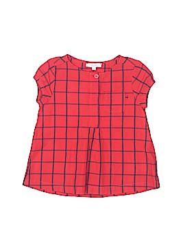 Jacadi Short Sleeve Button-Down Shirt Size 4