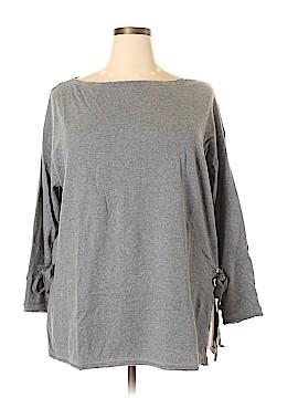 Caslon Long Sleeve Top Size 2X (Plus)