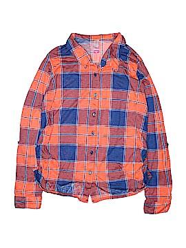 No Boundaries Long Sleeve Button-Down Shirt Size XXL