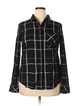 White House Black Market Long Sleeve Button-Down Shirt Size 14