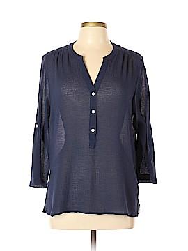 Tommy Bahama 3/4 Sleeve Blouse Size L