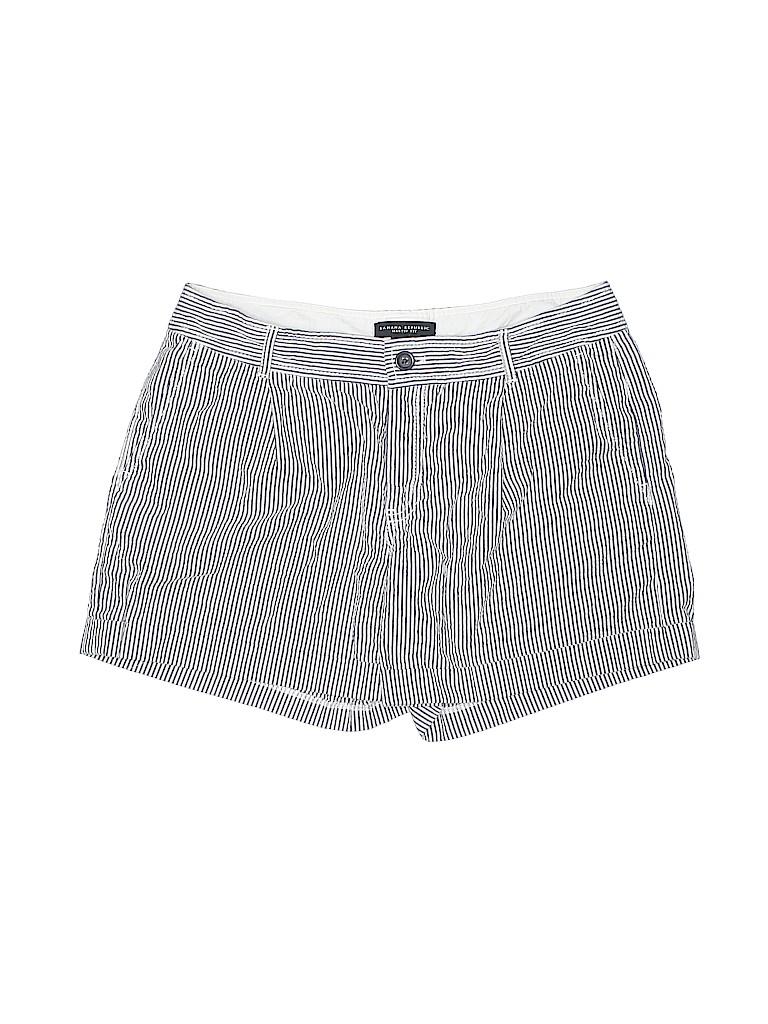 bea32b82a4 Banana Republic 100% Cotton Stripes Navy Blue Shorts Size 8 - 89 ...