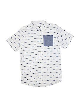 OshKosh B'gosh Short Sleeve Button-Down Shirt Size 14