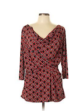 Worthington 3/4 Sleeve Blouse Size XL