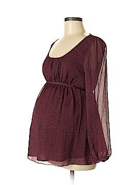 Mimi Maternity Long Sleeve Blouse Size M (Maternity)