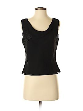 Ann Taylor Factory Sleeveless Silk Top Size 2