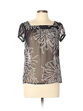 Ann Taylor Factory Short Sleeve Blouse Size M (Petite)