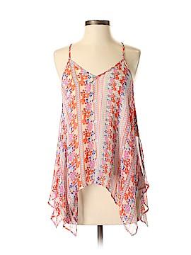 Ella Moss Sleeveless Silk Top Size XS