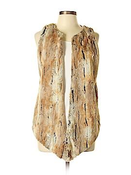 Karen Zambos Vintage Couture Faux Fur Vest Size S