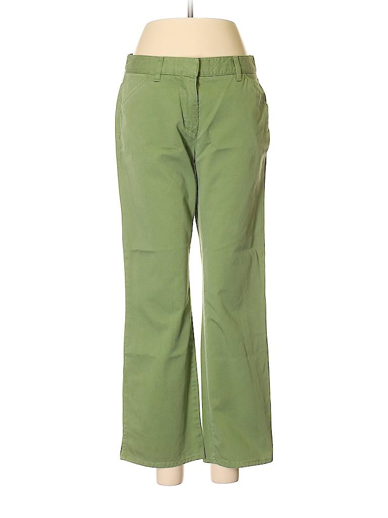 b77ea0cb J. Crew 100% Cotton Solid Green Khakis Size 4 - 84% off | thredUP