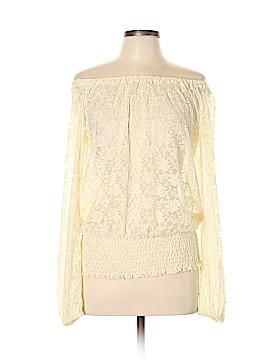 Arden B. Long Sleeve Blouse Size L