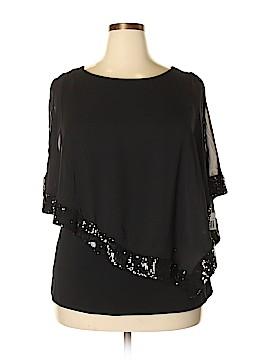 MSK 3/4 Sleeve Blouse Size 1X (Plus)