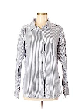 NSF Long Sleeve Button-Down Shirt Size M