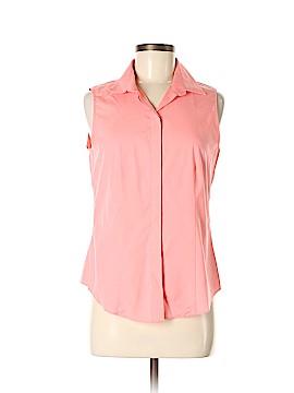 Talbots Sleeveless Button-Down Shirt Size 6