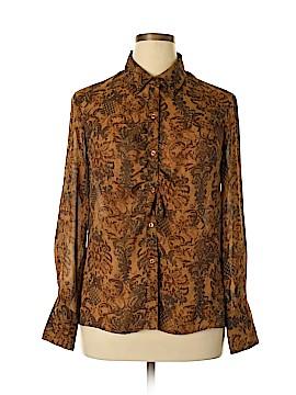Norton McNaughton Long Sleeve Blouse Size 14