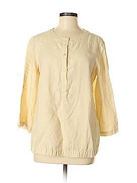 Lafayette 148 New York 3/4 Sleeve Blouse Size 8