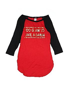 Blush 3/4 Sleeve T-Shirt Size L
