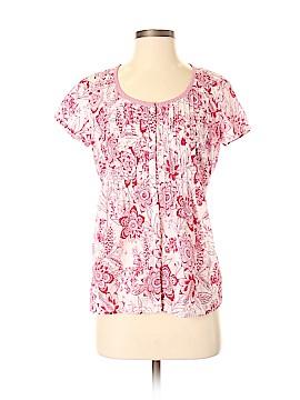G.H. Bass & Co. Short Sleeve Blouse Size S