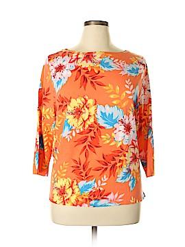 Talbots 3/4 Sleeve T-Shirt Size 3X (Plus)