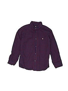 Rebel Long Sleeve Button-Down Shirt Size 4 - 5