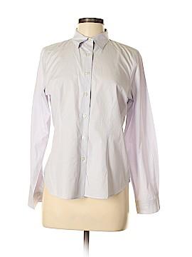 Devon & Jones Long Sleeve Button-Down Shirt Size M
