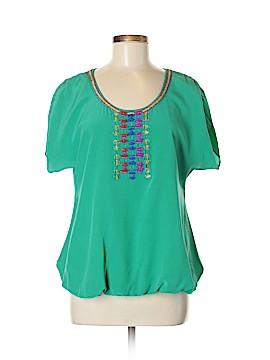 Tibi Short Sleeve Top Size 4 (Plus)