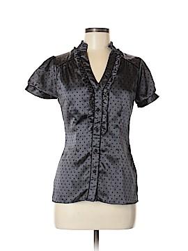 Charlotte Russe Short Sleeve Blouse Size M