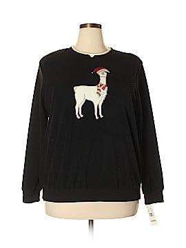 Alfred Dunner Sweatshirt Size 1X (Plus)