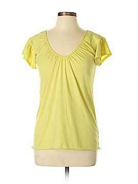 Velvet Short Sleeve Top Size L