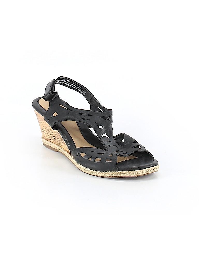 17bbe393794da1 ... Pin it Croft Barrow Women Wedges Size 9 ... hot sales e88da ba1e7  NIB Womens  Relativity Sandals Multi Colored Thongs Heels ...