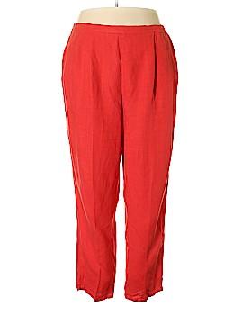 Coldwater Creek Linen Pants Size 2X (Plus)