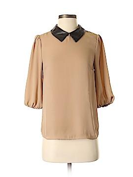 Soprano 3/4 Sleeve Blouse Size XS