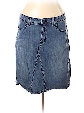 G.H. Bass & Co. Denim Skirt Size 12