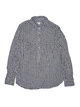 Merona Long Sleeve Button-Down Shirt Size L