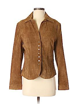 Christopher & Banks Leather Jacket Size S