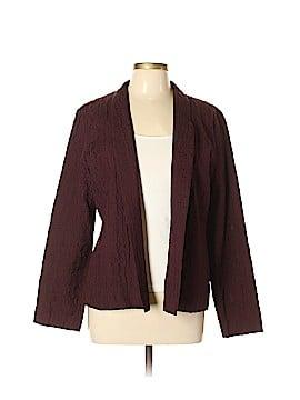 Eileen Fisher Silk Blazer Size L