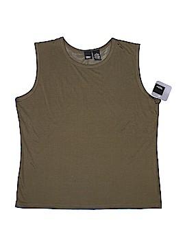 Mossimo Sleeveless Silk Top Size XL